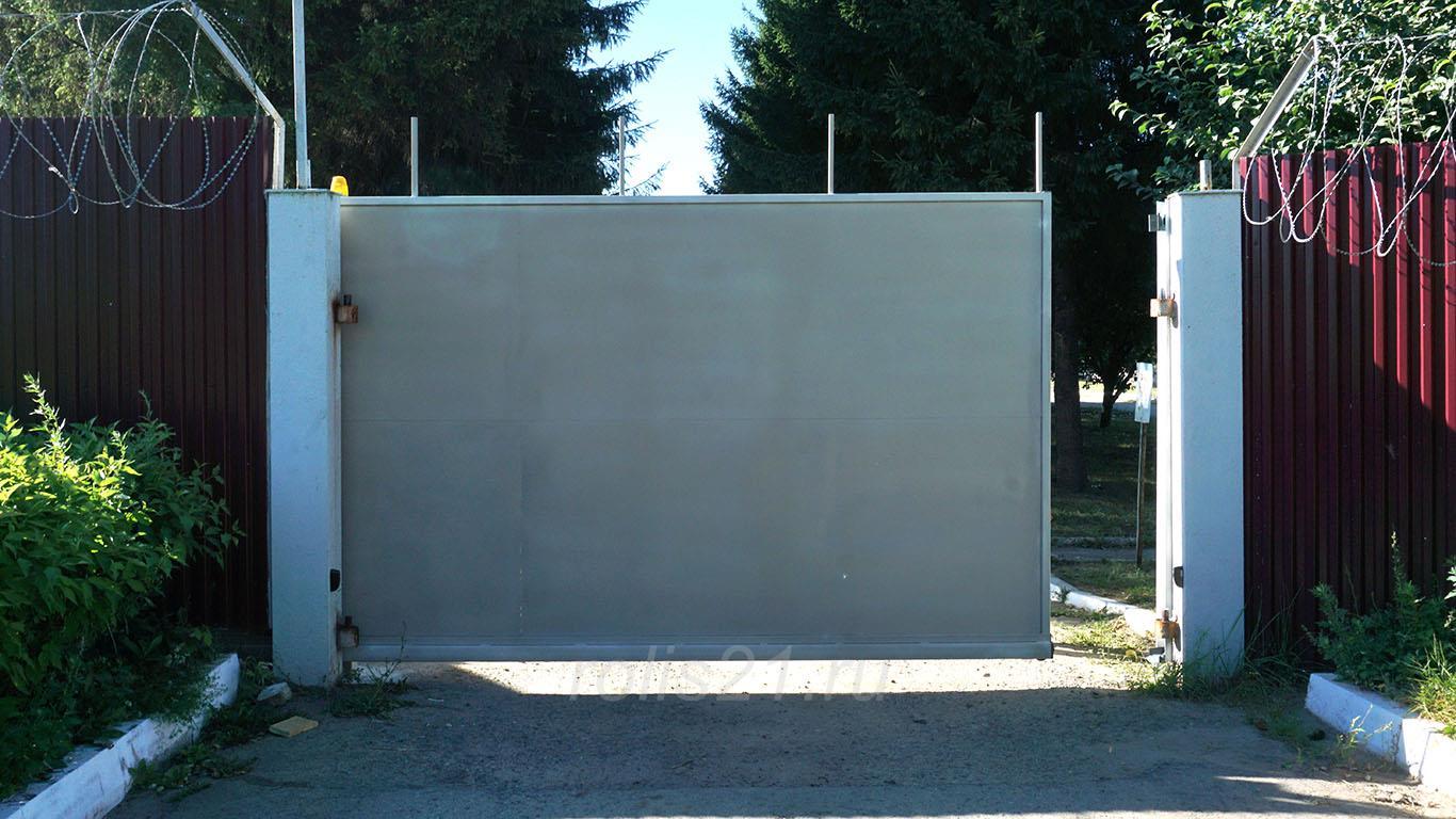 Откатные ворота 15