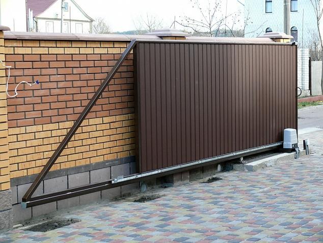 Комплектующие для откатных ворот: фото - 3