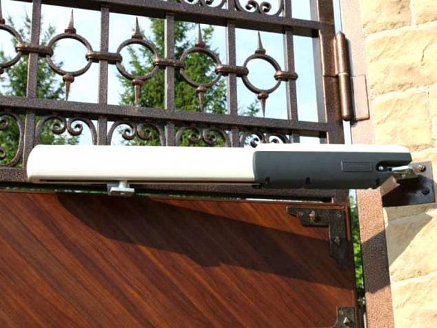 Автоматика для распашных ворот: фото - 2