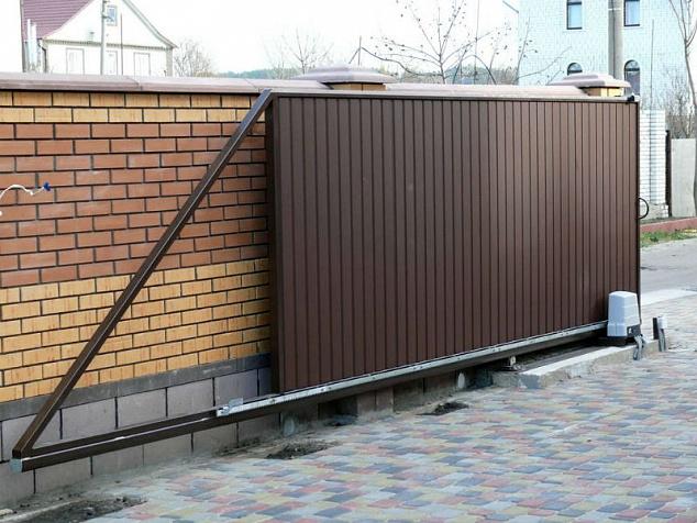 Автоматика для откатных ворот: фото - 5