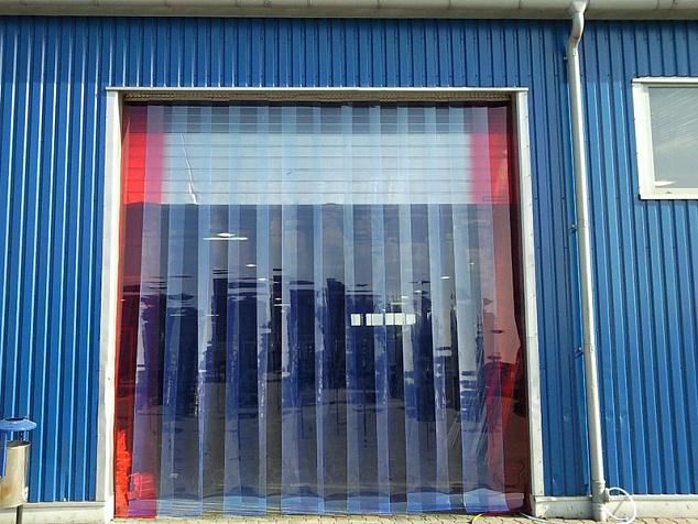 Полосовые плёночные завесы: фото - 2
