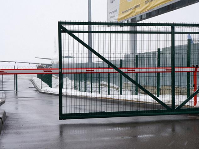 Промышленные откатные ворота: фото - 3