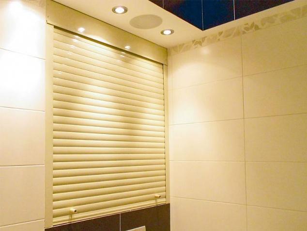 Рольставни в туалет и санузел: фото - 4