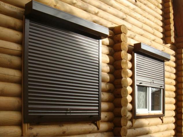 Рольставни на окна и двери: фото - 4