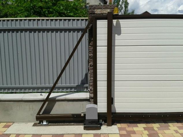 Автоматика для откатных ворот: фото - 2