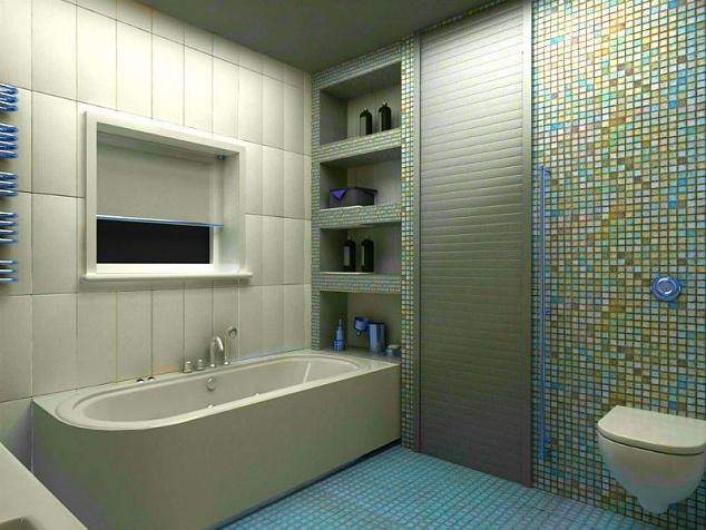 Рольставни в туалет и санузел: фото - 1