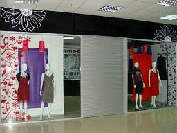 Рольставни в отделы торговых центров