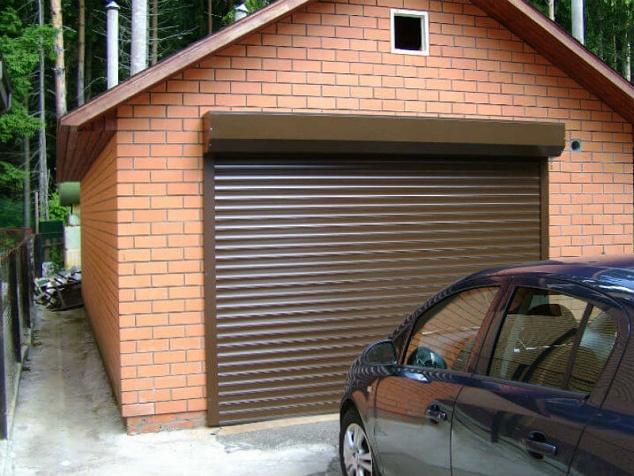 Рольворота (гаражные рольставни): фото - 1
