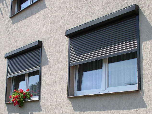 Рольставни на окна и двери: фото - 6